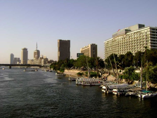 Nile River in Cairo