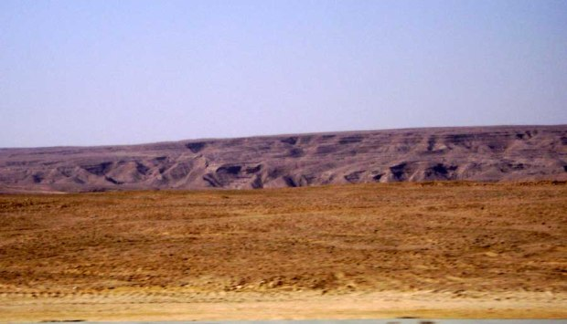 Desert, on my way to Suez