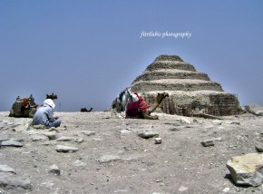 Sakkara Pyramid or also known as Steps Pyramid due to its shape similars to steps
