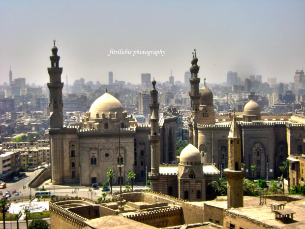 Old Cairo seen from Citadel
