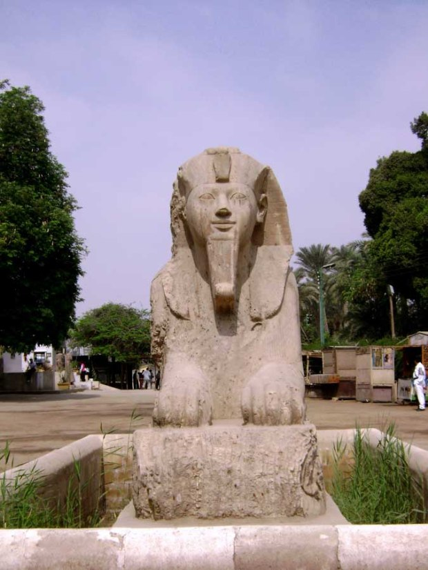 Sphinx at Memphis Open Air Museum