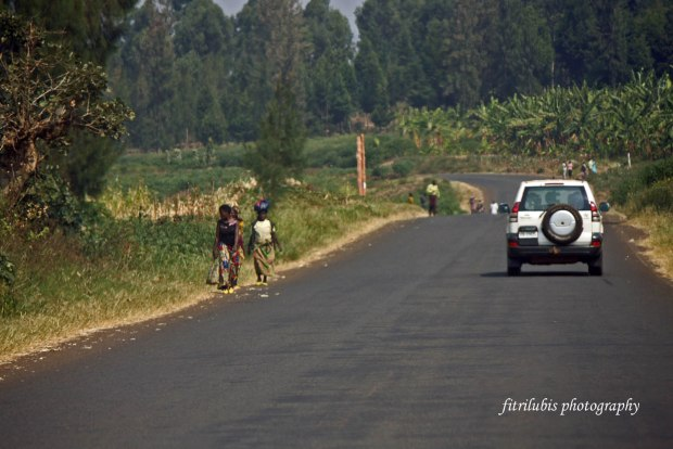 Road to Kavumu Airport