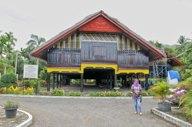 House of Cut Nyak Dien, the famous Heroine of Aceh