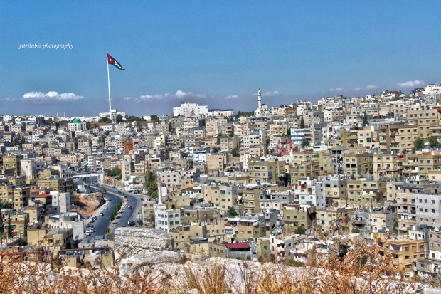 The City of Amman, seen from Citadel