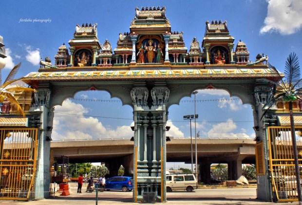Entrance gate of Batu Cave Kuala Lumpur