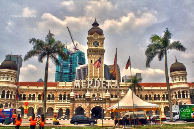 Sultan Abdul Samad Building in Merdeka Square