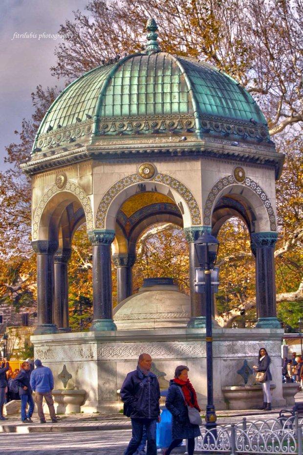 German Fountain, Sultanahmet, Istanbul