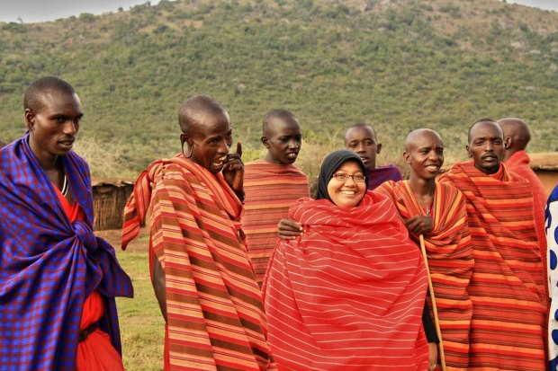 I am with the Maasai