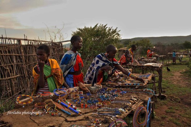 CCraft Market in Maasai Village