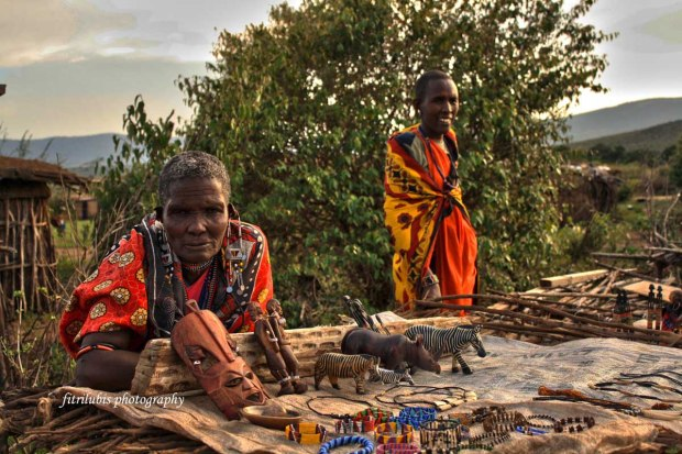 Craft Market in Maasai Village