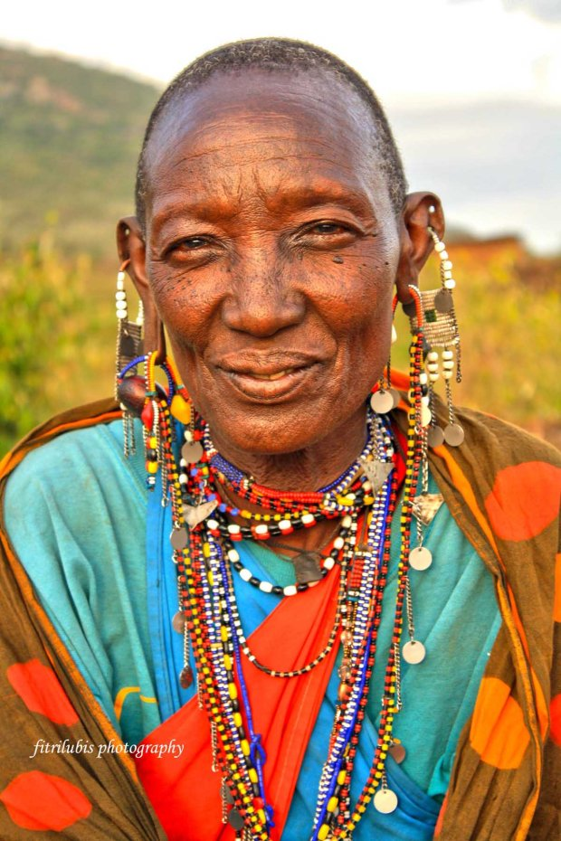 A beautiful Maasai Woman