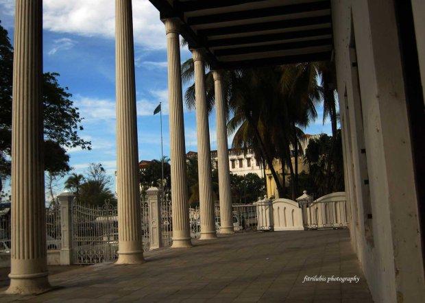 Terrace of House of Wonders