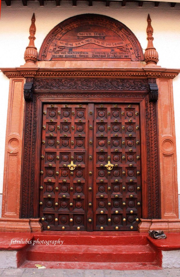 Special door, found many in Zanzibar