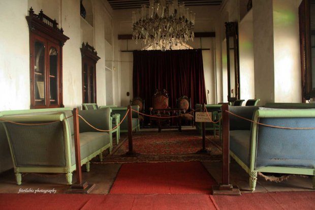 Living Room of The Palace Museum, Beit El Sahel