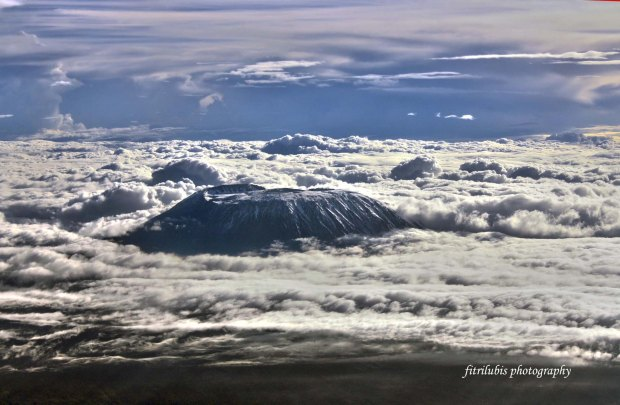 Mount Kilimanjaro. The peak of Africa