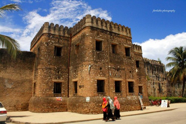 Old Fort of Zanzibar, as one of tourist attraction in Stone Town, Zanzibar