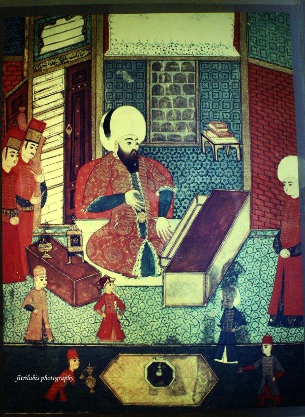 Painting at Topkapi Palace