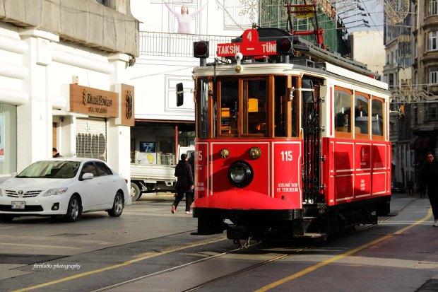 Nostalgic Istiqlal Caddesi Tram