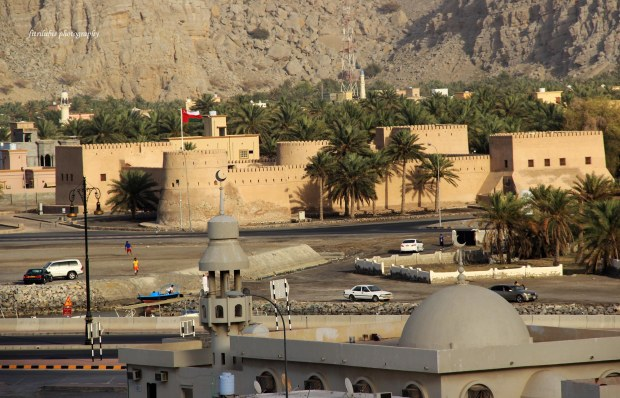 A fortress in Khasab