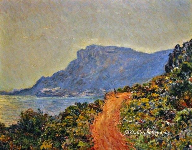 Corniche Near Monaco by Claude Monet