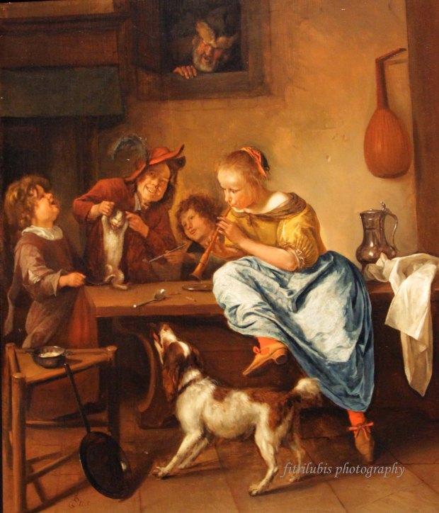 Dancing Lesson by Jan Havicksz Steen
