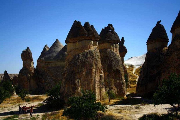 Cappadocia. It's a fairy land, isnt' it?