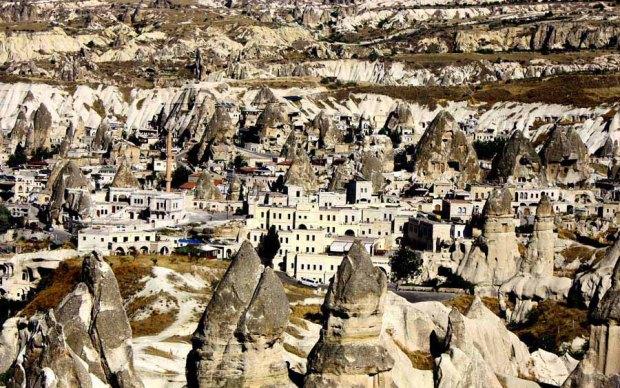 Cappadocia from the top