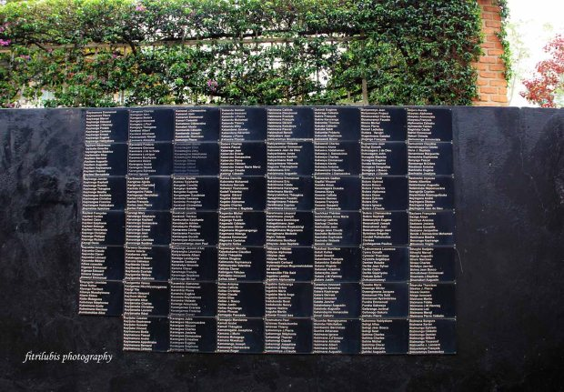 The names of victims of Kigali Genocide