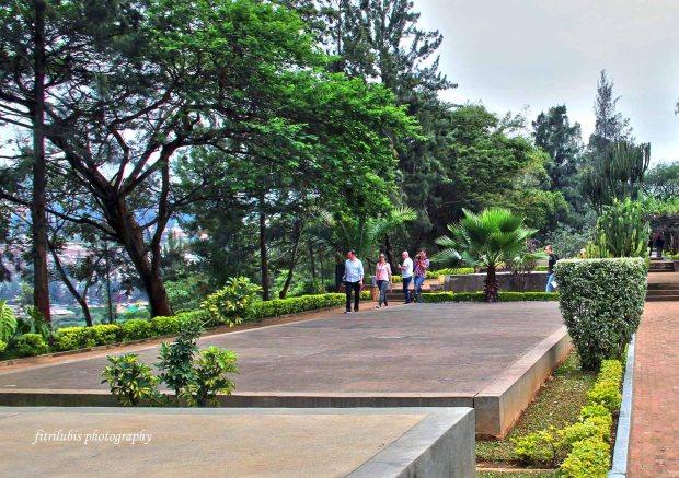 Mass graveyard at Kigali Genocide Memorial Museum