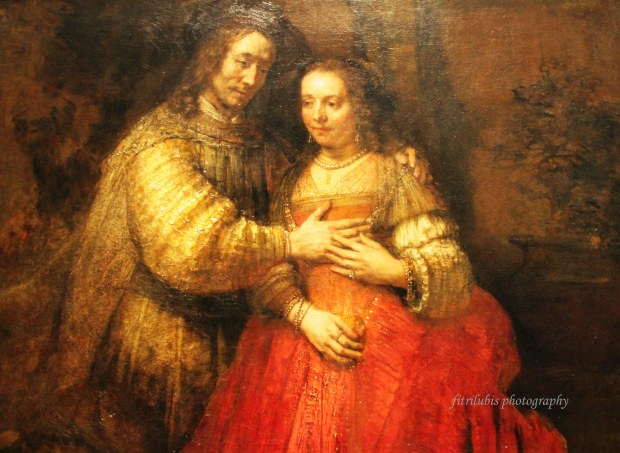 Isaac and Rebecca by Rembrandt