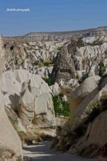 Pigeon valley of Cappadocia. This is where our trekking track was begun.