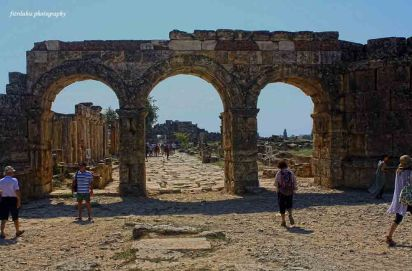 Hadrian Gate in Hierapolis