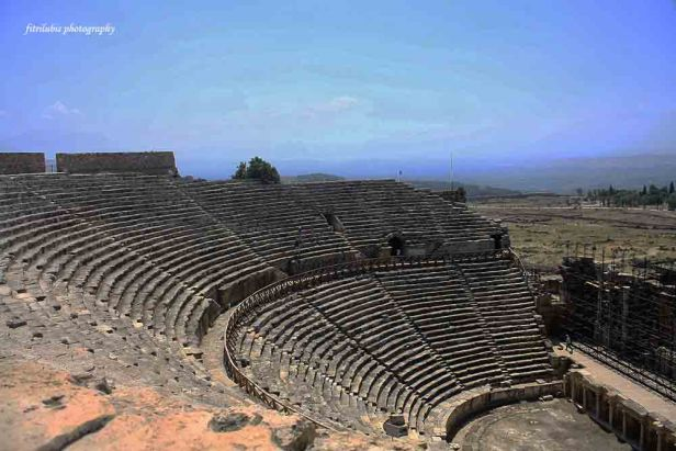 Amphitheater in Hierapolis