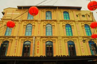 One colonial building at Chinatown