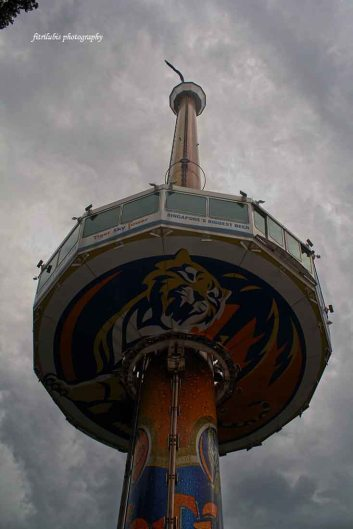 The Sky Tiger, where I could see Singapore from 131 meters height