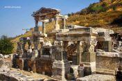 The ruins of Ephesus
