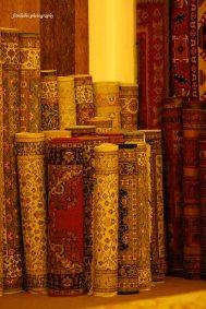 At carpet factory