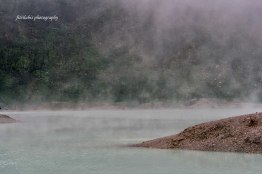 Scenery at White Crater (Kawah Putih)