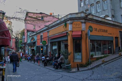 One of coffee house at Balat