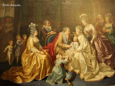 Painting at The museum of History of France, Chateau de Versailles