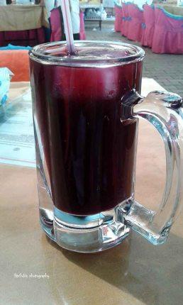Excellent pomergranate juice at Tuesday Market, Fethiye