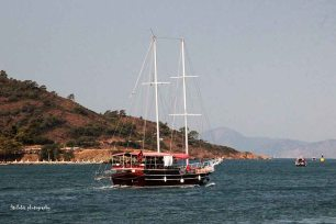 A shot from 12 Islands tour in Fethiye