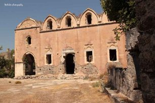 A church at in Kayaköy, The Ghost Town, Fethiye