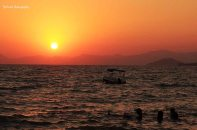Sunset at Çali Beach, Fethiye